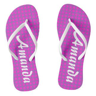Personalizable Fun Cool Unique Flip Flops
