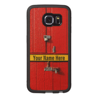 Personalizable Funny Cool Cute Unique Wood Phone Case