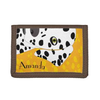 Personalizable Girls Wallet | Dalmatian Wallet