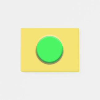 Personalizable Green Button Notes