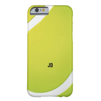 Personalizable Green Tennis ball Barely There iPhone 6 Case