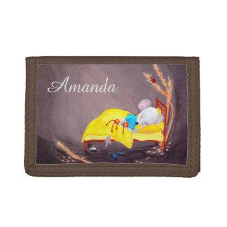 Personalizable Kids Wallet | Cute Mouse Wallet
