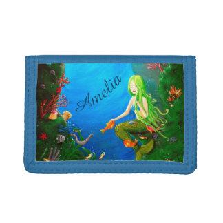 Personalizable Kids Wallet   Mermaid Wallet