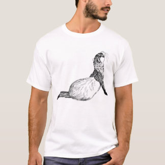 Personalizable Lounging Ferret  T-Shirt