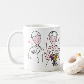 Personalizable Married Couple Mug