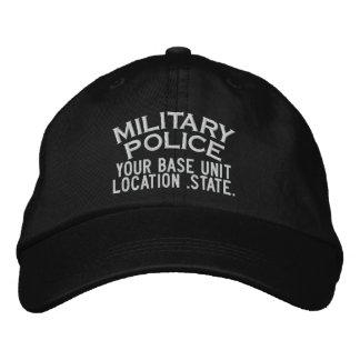 Personalizable Military Police Hat Baseball Cap