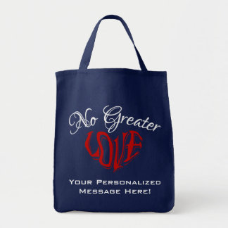 Personalizable Navy Blue Tote NGL10PTn Canvas Bag