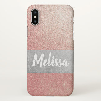 Personalizable Rose Gold Iphone Case