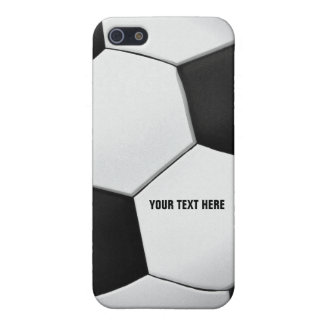 Personalizable Soccer - Football background iPhone 5/5S Covers
