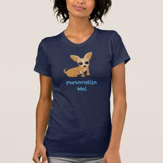 Personalizable Tan Chihuahua T-Shirt
