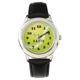 Personalizable Tennis Time   Cool Sport gifts Watch