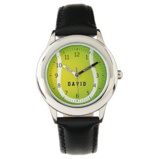 Personalizable Tennis Time | Cool Sport gifts Watch