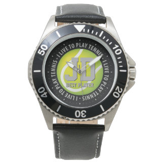 Personalizable Tennis Time | Sport fan gifts Watch