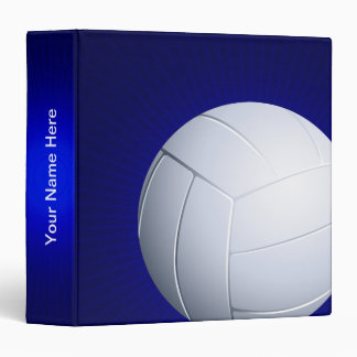 Personalizable Volleyball  | Cool Sports Gifts Vinyl Binder