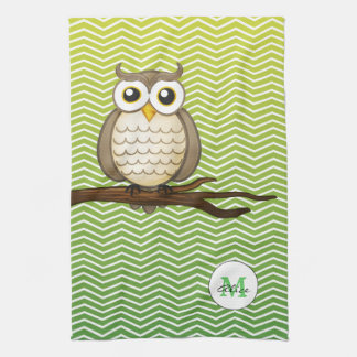 Personalizable Wise Owl | KitchenTowel Kitchen Towel