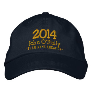 Personalize 2014 Cap Your Name Your Game Embroidered Baseball Caps