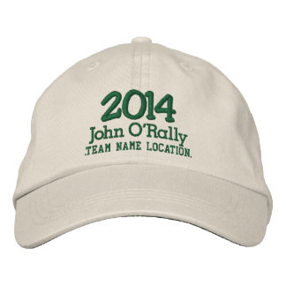 Personalize 2014 Cap Your Name Your Game Embroidered Hat