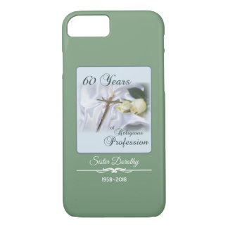Personalize, 60 Years of Religious Profession Case-Mate iPhone Case