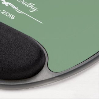Personalize, 60 Years of Religious Profession Gel Mouse Pad