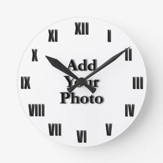 "(Personalize) Add ""Your"" touch (ROMAN NUM). Wallclocks"