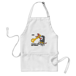 Personalize Age with Buzzard Standard Apron