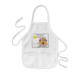"Personalize Apron for ""Best Little Artist"""