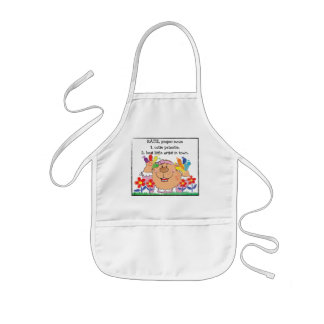"Personalize Apron for Girl's ""Best Little Artist"""
