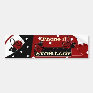 Personalize Avon Lady Bumper Sticker