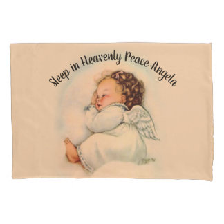 Personalize Baby Girl Angel Pillowcase
