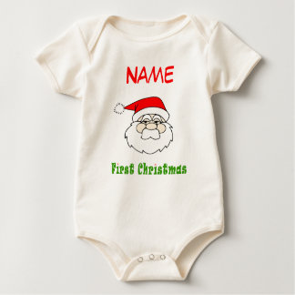 Personalize - Baby's First Christmas Baby Bodysuit