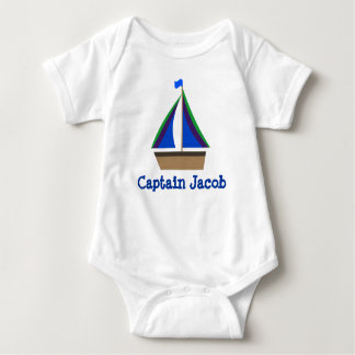 Personalize Baby's Name, Nautical Infant Bodysuit