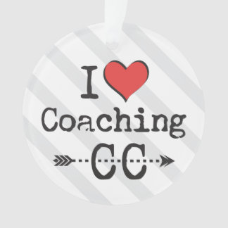 Personalize Back I heart Coaching Cross Country