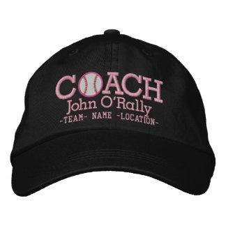 Personalize Baseball Coach Cap Name  n Team Embroidered Baseball Cap