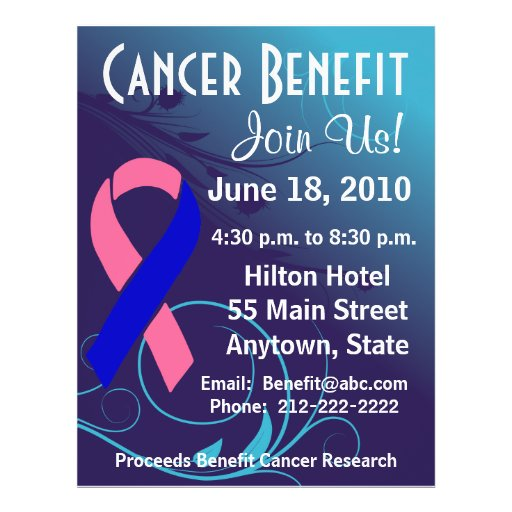 Personalize Benefit - Male Breast Cancer Flyer