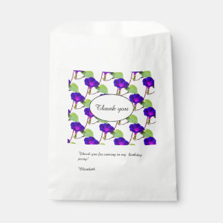 Personalize: Birthday Morning Glory Thank You Favour Bag