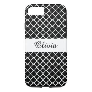 Personalize Black and white design iPhone 7 case