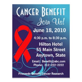 Personalize Cancer Benefit  - Blood Cancer Flyer