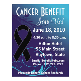 Personalize Cancer Benefit  - Skin Cancer Flyer