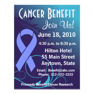 Personalize Cancer Benefit  - Stomach Cancer Flyer