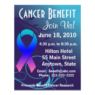 Personalize Cancer Benefit  - Thyroid Cancer Flyer