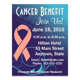 Personalize Cancer Benefit  - Uterine Cancer Flyer