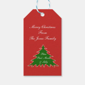 Personalize Christmas Tree Tag