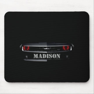 Personalize Cool black Chevy Camaro Mouse Pad