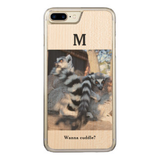 Personalize Cuddly Lemur Iphone 7 (Plus) Case