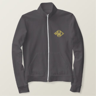 Personalize Embroidered Da Man FleeceTrack Jacket