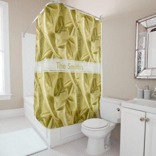 Personalize:  Faux Metallic Gold Lame' Fabric