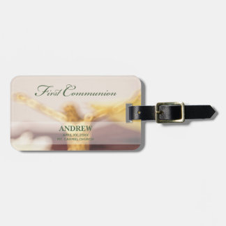 Personalize, First Communion Congratulations Luggage Tag