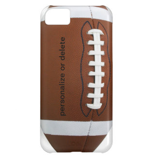 Personalize football iPhone 5C cover