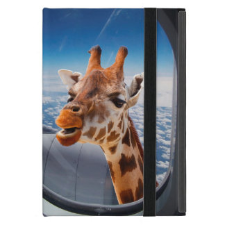 Personalize Funny Giraffe iPad Mini Case/Kickstand Cover For iPad Mini