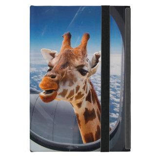 Personalize Funny Giraffe iPad Mini Case/Kickstand